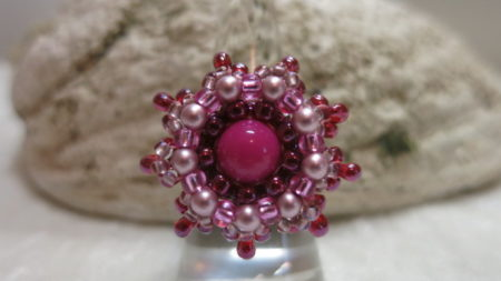 image of pink summer ring-front