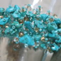 bracelet turqouise beads
