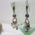 earring hanging beads hanging
