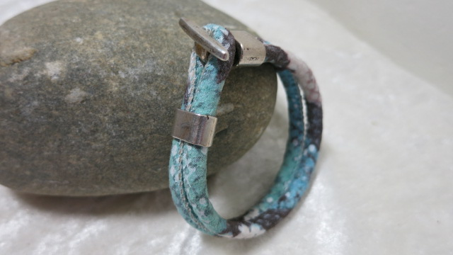 cord bracelet mint lateral
