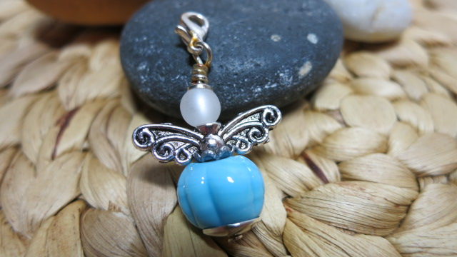 guardian angel light blue formed with white