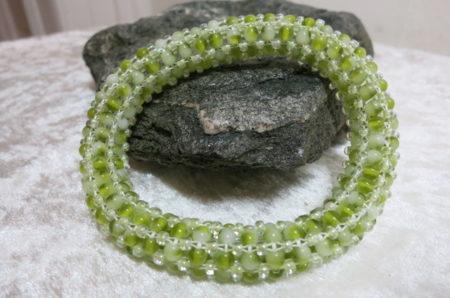 Armband Frühlingsgrün