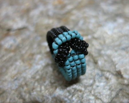 ring-knot-turquoise-black-1