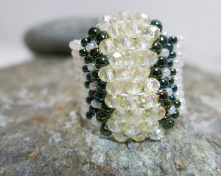 ring-beaded-band-white-shimmer-1